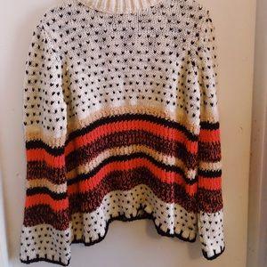 ASOS Mixed Knit Sweater